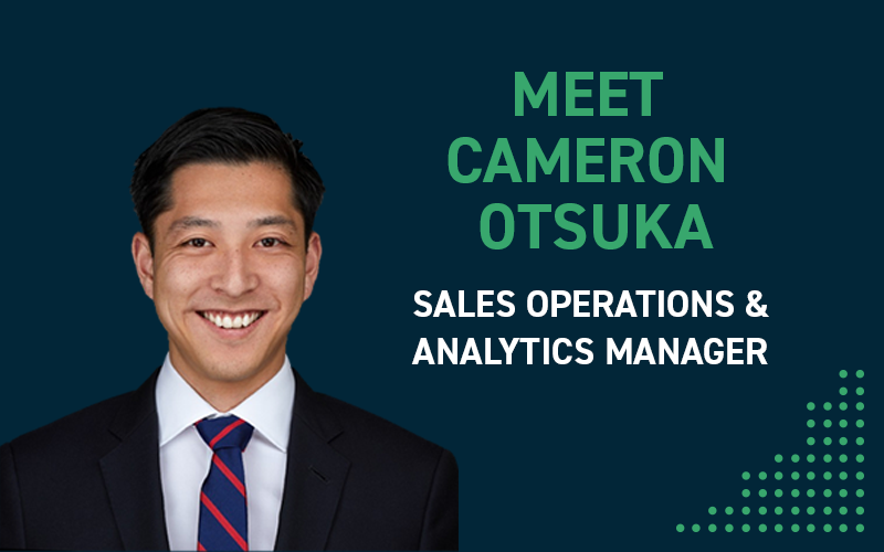 Meet Cameron Otsuka, Build's Sales Operations and Analytics Manager