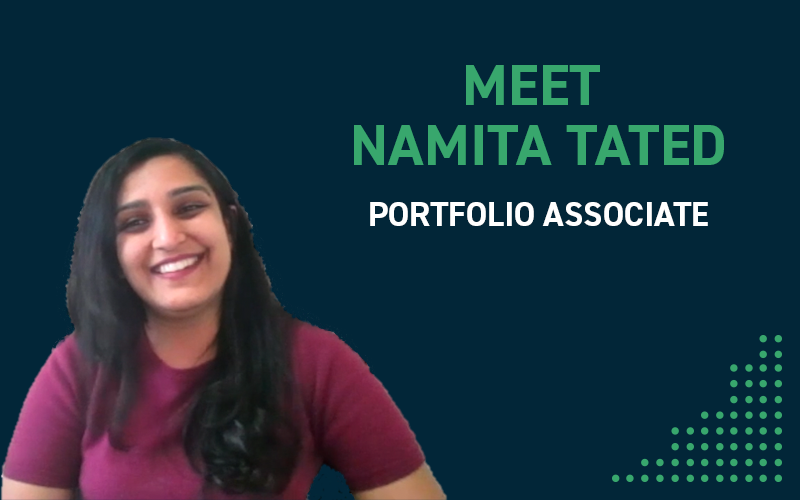 Meet Namita Tated, A Portfolio Associate